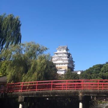 和船から見た姫路城(写真:ラジオ関西)
