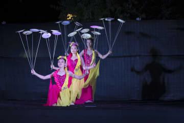 中国湖南雑技団がイスラエルで公演