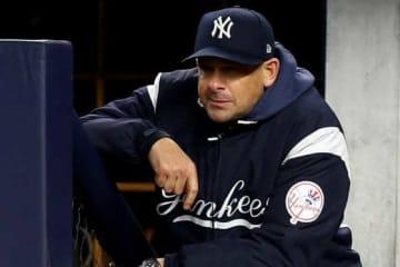 ヤンキースのアーロン・ブーン監督【写真:Getty Images】