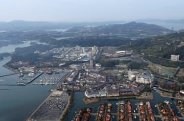 長崎IRの候補地となっている佐世保市のハウステンボス。政府の基本方針案は「地域における十分な合意形成」を求めている=2014年11月