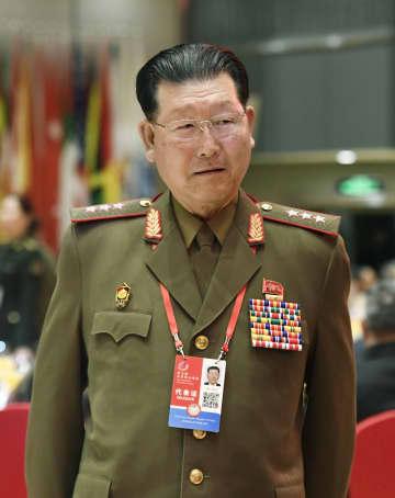 「香山フォーラム」の夕食会に出席した北朝鮮の金炯竜人民武力次官=20日、北京(共同)