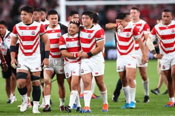 2019 ラグビーW杯 準々決勝 日本が南アに敗退 ベスト4進出ならず 写真:長田洋平/アフロスポーツ
