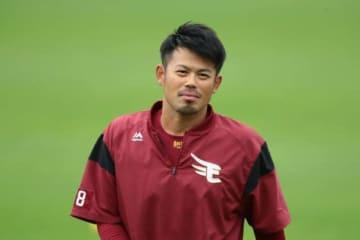 楽天が今季で現役引退した今江敏晃の育成コーチ就任を発表【写真:荒川祐史】