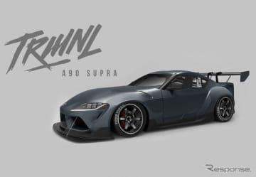 トーヨータイヤがプロデュースするトヨタ・スープラ 新型のカスタマイズカー