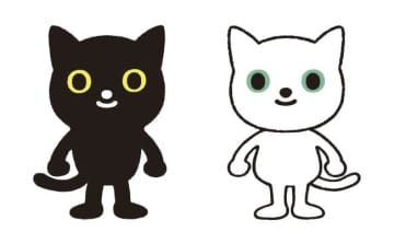 ヤマトホールディングスの新たなクロネコとシロネコのキャラクター
