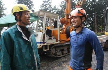 廣瀨裕介さん(左)と亮司さん