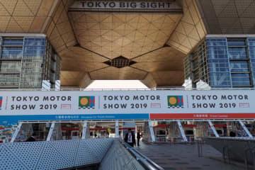 東京ビッグサイト会場の正面入口