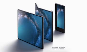 Huawei's Mate X foldable smartphone. (Image credit: Huawei)