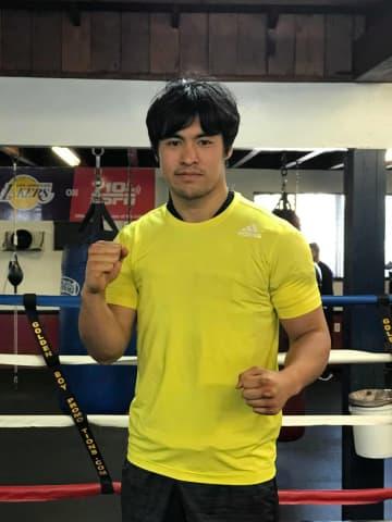 ボクシングで東京五輪出場を目指す赤井英五郎さん。1年ぶりのLAで今夏の試合へ向けての合宿を敢行した