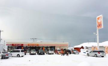 人口1,200人の初山別村に出店(セコマ提供)