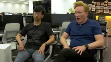コナン・オブライエンがコジプロを訪問!『DEATH STRANDING』登場シーンや小島監督とのハチャメチャトークが公開