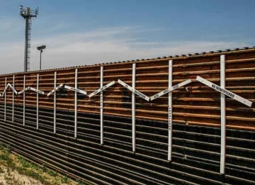 Border Wall at Tijuana and San Diego Border