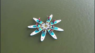 水上スポーツの一流選手が競演 浙江省衢州市