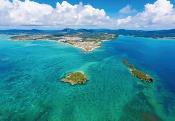 ホープスポットに認定された、沖縄県名護市の辺野古周辺海域(日本自然保護協会提供)