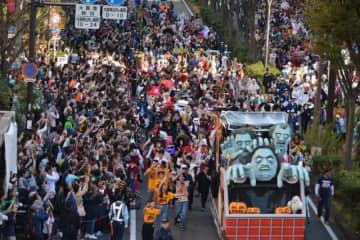 「カワハロ」が誇る日本最大級のハロウィン・パレード。昨年も盛大に盛り上がった