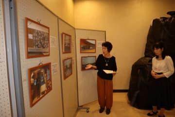 東日本大震災の原発事故から8年目の被災地・福島の現状を伝える写真展=長崎新聞文化ホール・アストピア