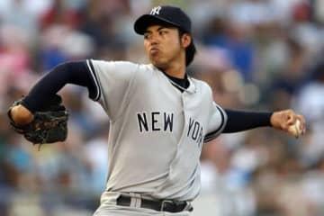 ヤンキースに所属していた井川慶【写真:Getty Images】