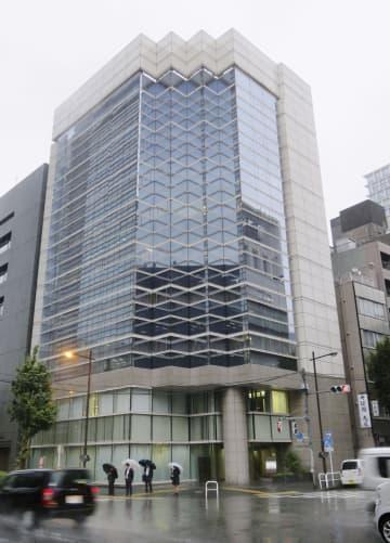 関連会社の返金トラブルが起きている「ジュピタープロジェクト」が入るビル=25日、東京都千代田区