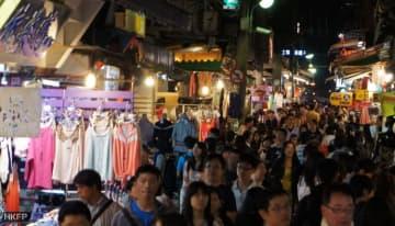 Shilin Night Market. File Photo: Tom Grundy/HKFP.