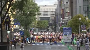 """五輪マラソン札幌案 """"大通公園発着点""""が有力に 北海道マラソン実績もとに"""