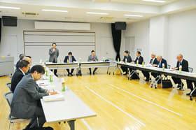 結志会が主催し開催された地域政策懇談会