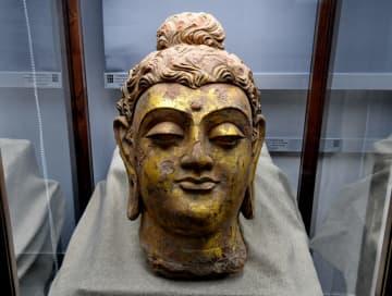 古代ガンダーラの仏像、福建省で展示会