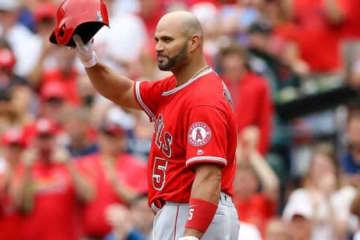 アメリカ合衆国外出身選手最多本塁打記録保持者でエンゼルスのアルバート・プホルス【写真:Getty Images】