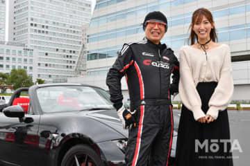(左から)ピストン西沢さん、美波千夏さん