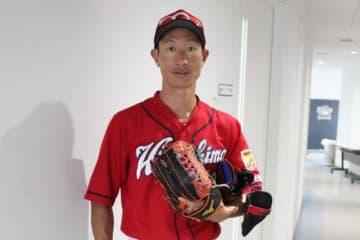 広島のコーチに就任することが決まった赤松真人氏【写真:橋本健吾】