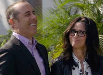 Jerry Seinfeld and Julia Louis-Dreyfus in Comedians in Cars Getting Coffee
