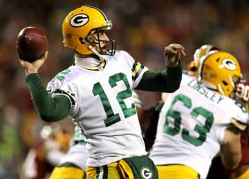 Aaron Rodgers Throws Controversial TD Pass to Jordy Nelson in Packers' 42-24 Loss to Redskins