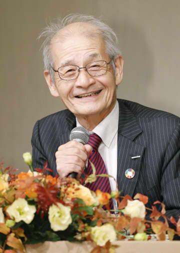 文化勲章受章が決まり心境を語る旭化成名誉フェローの吉野彰さん