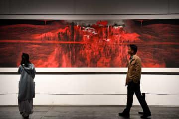 第1回湖南・中国画ビエンナーレを訪ねて