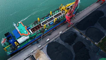 日照港「東煤南移」プロジェクト、環境配慮型港湾への転換を実現