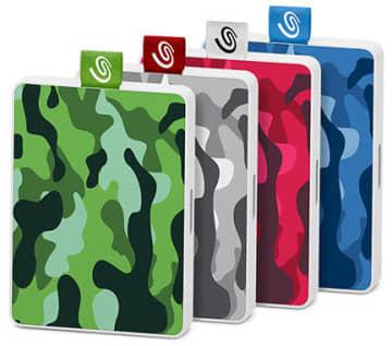 限定生産の迷彩柄のOne Touch SSD Special Edition