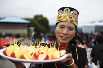 リンゴ栽培講習会を開催 チベット自治区