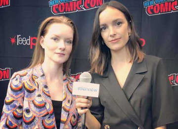 New York Comic Con 2019 VIDEO EXCLUSIVE: Wrenn Schmidt & Jodi Balfour On 'For All Mankind'