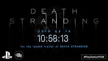 『DEATH STRANDING』ローンチトレイラーの公開はまもなく―Twitchではカウントダウンも