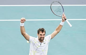 「ATP1000 パリ」でのシャルディ