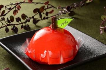 ローソン『赤りんごケーキ』
