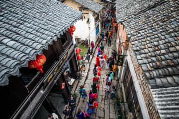 三国志で有名な「赤壁」に中国初の青磚茶博物館が誕生