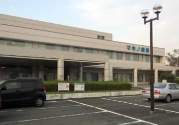 入院患者の集団食中毒があったマキノ病院(滋賀県高島市マキノ町新保)