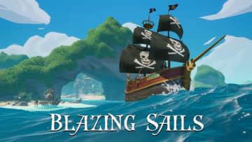 海賊Co-opバトルロイヤル『Blazing Sails』トレイラー! 帆船による激しい戦いが展開