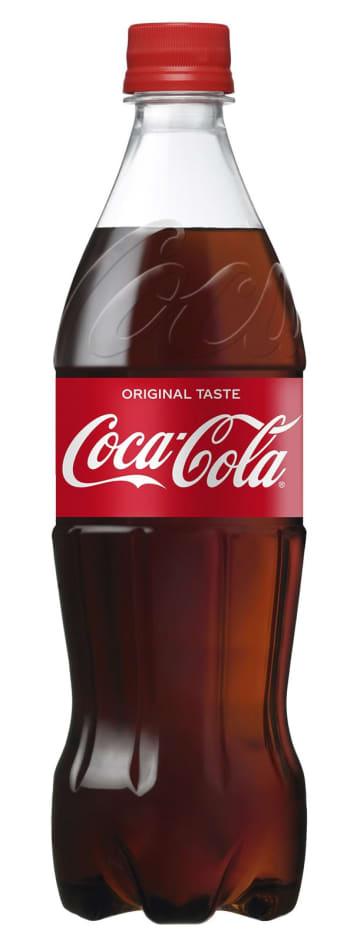 日本コカ・コーラが新たに導入する700ミリリットルサイズのペットボトル