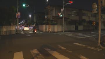 事故があった尼崎市元浜町の市道