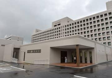 (資料写真)沖縄県西原町の琉球大学付属病院