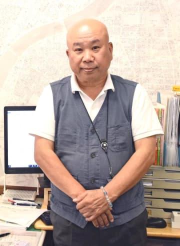 本部町生まれで横浜市鶴見区に住む仲宗根保さん=9月、横浜市鶴見区