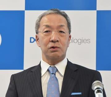平手氏(2019年3月のデル・EMCジャパンの記者会見時)