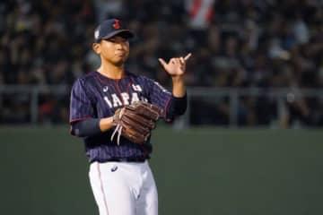 カナダ戦に先発した侍ジャパン・今永昇太【写真:Getty Images】