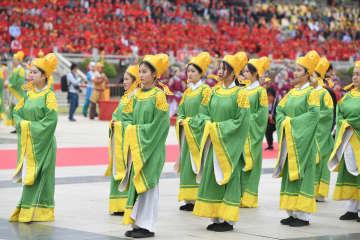 湄洲媽祖文化観光節が開幕 福建省莆田市